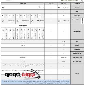 فروش نقدی و اقساطی لیفان X60 اتوماتیک (فروردین 97)