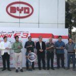 تحویل اولین سری BYD F3 به مشتریان کارمانیا