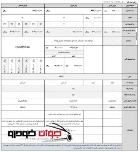 شرایط فروش جک S3 (خرداد 97)