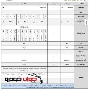 شرایط فروش لیفان X60 با مدل 96 (خرداد 97)
