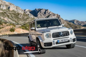 2019-Mercedes-AMG-G63-front-three-quarter-in-motion-05