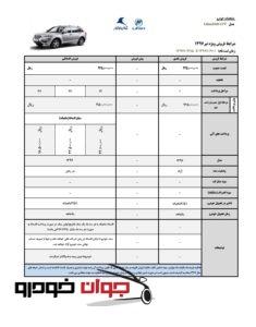 شرایط فروش لیفان X60 (تیر 97)