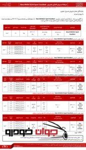 فروش نقدی و اقساطی MVM 315 Sport (خرداد 97)