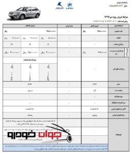 شرایط فروش X60 لیفان
