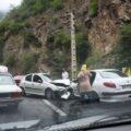 تصادف در جاده چالوس