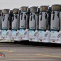 اتوبوس های جدید-ناوگان حمل و نقل عمومی