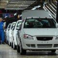 خط تولید ایران خودرو