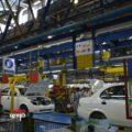 صنعت خودرو- خط تولید سایپا
