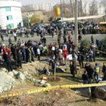 واژگونی اتوبوس-دانشگاه علوم تحقیقات تهران