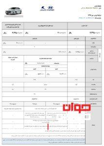 شرایط فروش هیوندای النترا-2019-2018-دی 97