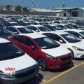 خودروهای وارداتی دپو شده در گمرک