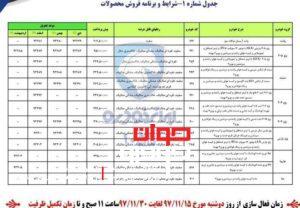 شرایط فروش محصولات ایران خودرو-1