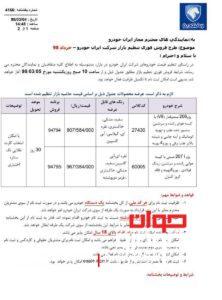 فروش فوری ایران خودرو