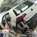 خط تولید خودرو فولکس واگن