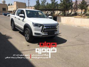 jac t8_جک تی 8_پیکاپ کرمان موتور