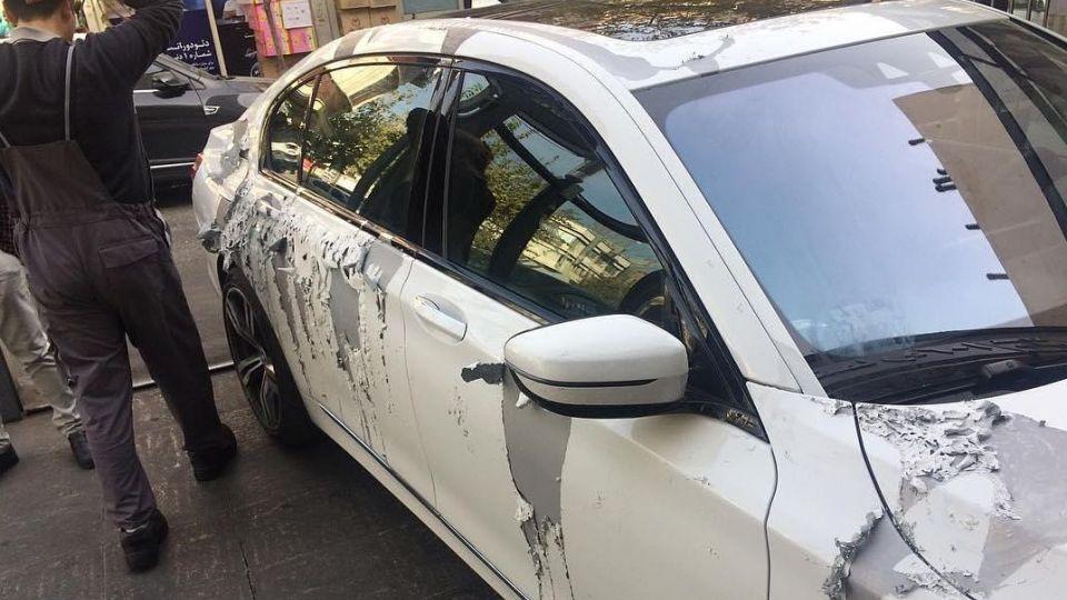 فرد متهم به اسیدپاشی بر خودروها دستگیر شد - جوان خودرو