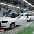 خط تولید دنا در ایران خودرو