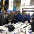 بازدید وزیر صمت از قطعات ساخت داخل