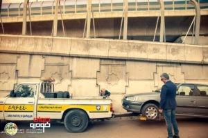 وانت حمل خودرو امداد خودرو ایران