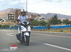 موتورسیکلت هوندا کلیک
