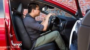 تنظیم صندلی خودرو