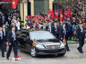 خودروی کیم جونگ اون