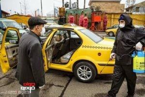 ضدعفونی تاکسی