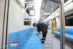 ضدعفونی مترو