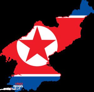 نقشه + پرچم کره شمالی