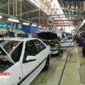 خط تولید پژو پارس در ایران خودرو