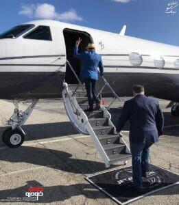 هواپیمای شخصی مانی خوشبین