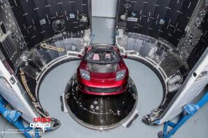 تسلا مدل 3 در اسپیس ایکس