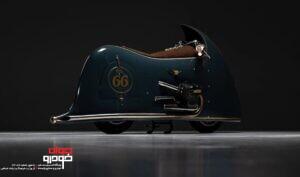 موتور سیکلت کلاسیک ب ام و (2)