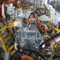 خط تولید بدنه در ایران خودرو