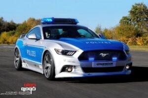 خودروهای پلیس آلمان