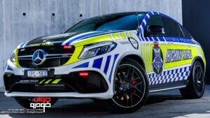 خودروهای پلیس استرالیا