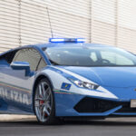 خودروهای پلیس ایتالیا