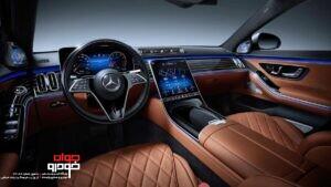مرسدس بنز کلاس S مدل 2021 (1)
