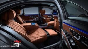 مرسدس بنز کلاس S مدل 2021 (5)