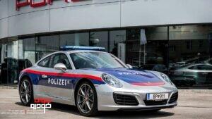 پورشه 911- خودروی پلیس اتریش