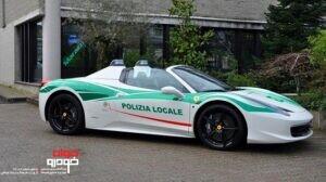 فراری 458-پلیس ایتالیا