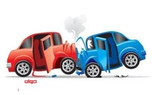 تصادف 2 خودرو