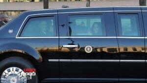 خودروی باراک اوباما رئیس جمهور آمریکا
