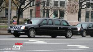 خودروی جورج بوش رئیس جمهور امریکا