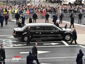 خودروی رئیس جمهور آمریکا، دونالد ترامپ