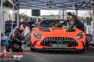 مرسدس بنز AMG GT بلک سریز