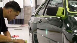 تشخیص رنگ شدگی خودرو با چشم