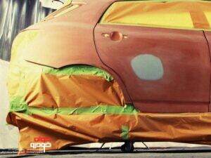 رنگ کردن خودرو