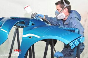 رنگ کردن گلگیر خودرو
