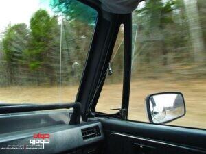 شیشه لچکی خودرو